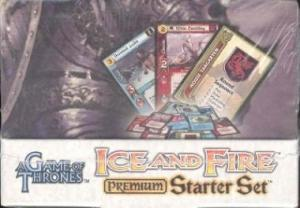 A Game of Thrones Ice & Fire Premium Starter Box