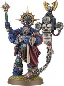 Finecast: Space Marine Captain: Master of the Rites