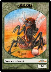 10 tokens «Insect» designed by Cardplace.RU 2014