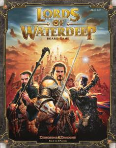 D&D Board Game: Lords of Waterdeep (on english)