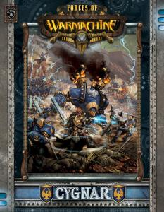 Forces of WARMACHINE: Cygnar english soft cover