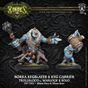 Trollbloods Borka Kegslayer