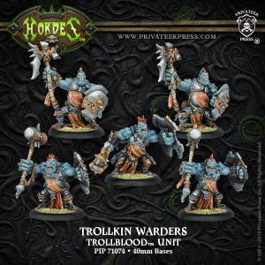Trollbloods Trollkin Warders