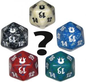 Dice D20 from fatpack