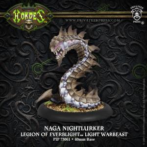 Legion of Everblight Naga Nightlurker