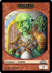10 tokens «Goblin» designed by Cardplace.RU 2014