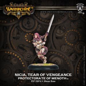 Nicia, Tear of Vengeance