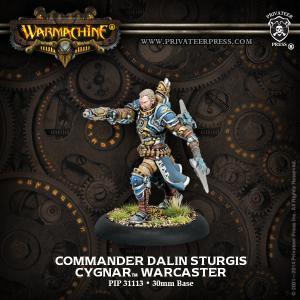 Commander Dalin Sturgis