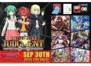 Cardfight!! Vanguard G Vol.8 Absolute Judgment BoosterPack