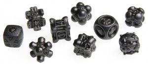 Irondie The Game - 9-Dice Basic Set - Unlimited black