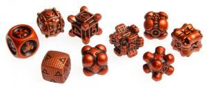 Irondie The Game - 9-Dice Basic Set - Unlimited orange
