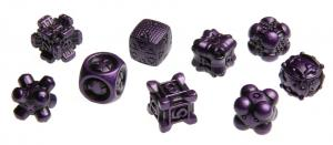 Irondie The Game - 9-Dice Basic Set - Unlimited purple