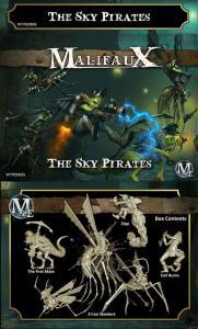 Malifaux The Sky Pirates Crew