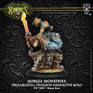 Trollbloods Horgle Ironstrike