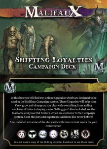 Malifaux Campaign Deck