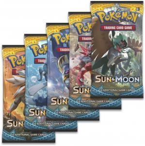 Pokemon Sun & Moon booster eng