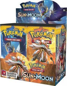 Pokemon Sun & Moon Sun & Moon booster box eng