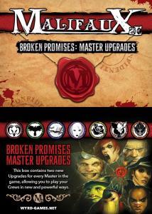 Malifaux Broken Promises Upgrade Deck