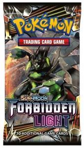Pokemon Sun & Moon Forbidden Light booster eng