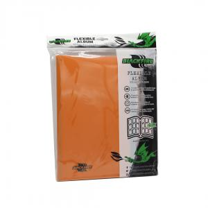 Blackfire Flexible Album - 9 Pocket - Orange