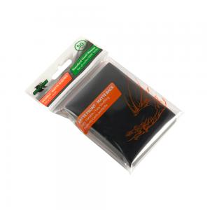Blackfire Sleeves - Standard Double-Matte Black (50 Sleeves)