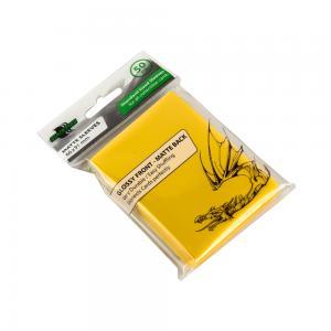 Blackfire Standard Sleeves - Yellow (50 Sleeves)