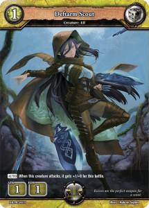 Promo: Dragoborne: Deftarm Scout