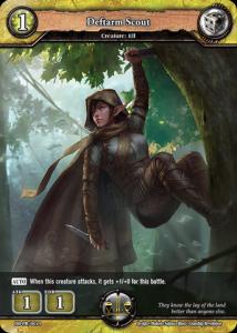 Promo: Dragoborne: Deftarm Scout Elf
