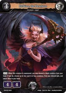 Promo: Dragoborne: Helkion, the Desolator Angel