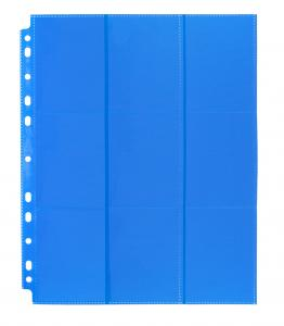 Blackfire 18-Pocket Pages - Blue - Sideloading (50 pcs)