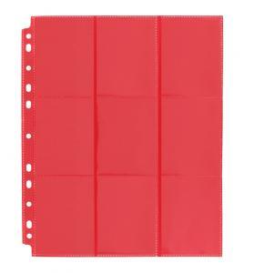 Blackfire 18-Pocket Pages - Red - Sideloading (50 pcs)