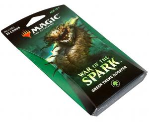 Green Theme Booster Pack - War of the Spark (eng)