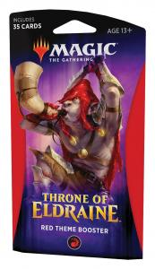 Red Theme Booster Pack - Throne of Eldraine (eng)