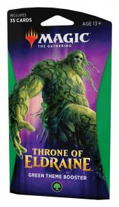 Green Theme Booster Pack - Throne of Eldraine (eng)