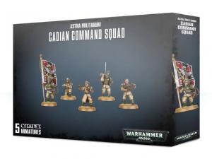 Astra Millitarum Cadian Command Squad