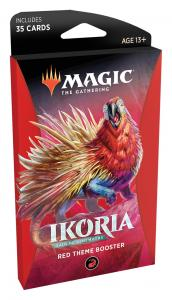 Red Theme Booster Pack - Ikoria: Lair of Behemoths (eng)
