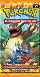 Pokemon xy2 flashfire booster rus