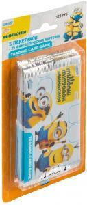 TOPPS minions stickers blister rus