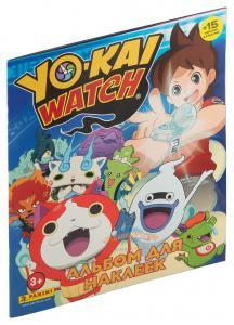 Panini Stickers Albume YOKAI WATCH