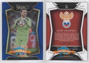 Panini Select 2015-16 Blue - #25.1 Igor Akinfeev (Base)