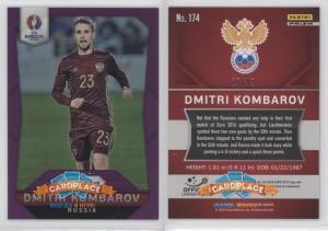 Panini Prizm UEFA Euro 2016 Purple Prizms - #174 Dmitry Kombarov