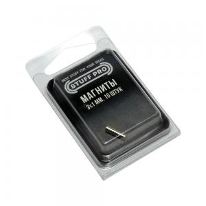 10 Magnets STUFF-PRO, 3х1 mm
