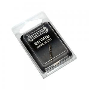 10 Magnets STUFF-PRO, 3х2 mm