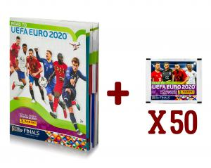 soccer cards panini Road to EURO 2020 + albume