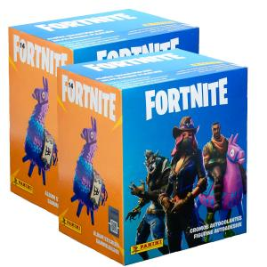 PANINI Fortnite stickers box x2