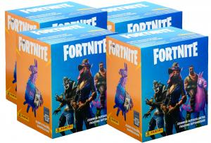 PANINI Fortnite stickers box x4