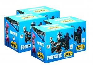 FORTNITE TCG 1 Series Four Boxes
