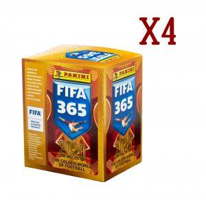 soccer cards panini FIFA 365-2020 4 boxes