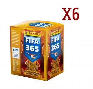 soccer cards panini FIFA 365-2020 6 boxes