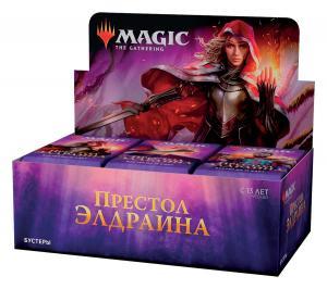 Throne of Eldraine booster box (russian)